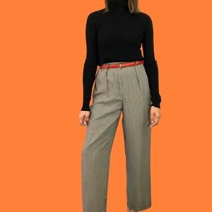 80's gingham pants